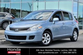 Used 2010 Nissan Versa 1.8 SL BAS KM 8 PNEUS AUTO AC MAGS BAS KM for sale in Lachine, QC