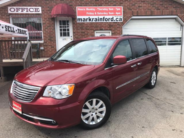 2013 Chrysler Town & Country Touring Bluetooth Nav Pwr Doors & Gate R Start