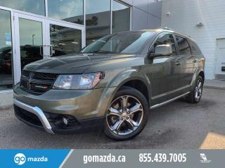 Used 2017 Dodge Journey CROSSROAD AWD 7 PASS DVD SUNROOF RARE COLOR for sale in Edmonton, AB
