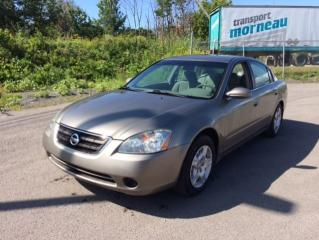 Used 2002 Nissan Altima Berline S 4 portes, boîte automatique for sale in Quebec, QC