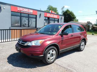 Used 2011 Honda CR-V LX|4WD|POWER PACKAGE|AUX for sale in St. Thomas, ON