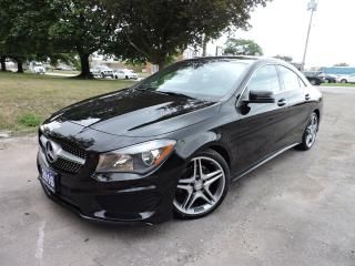 Used 2016 Mercedes-Benz CLA-Class CLA 250 AMG pkg/4Matic/RevCam/Navigation for sale in BRAMPTON, ON