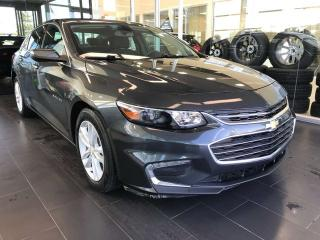 Used 2018 Chevrolet Malibu LT, ACCIDENT FREE, KEYLESS IGNITION, BACK-UP CAMERA, BLUETOOTH for sale in Edmonton, AB