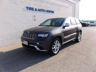 Used 2015 Jeep Grand Cherokee Summit for sale in Sarnia, ON