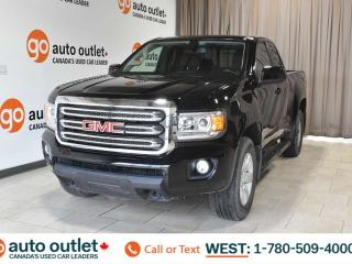 Used 2016 GMC Canyon Sle, 3.6L V6, 4x4, Extended Cab, Short box, OnStar Nav, Backup camera, Bluetooth for sale in Edmonton, AB