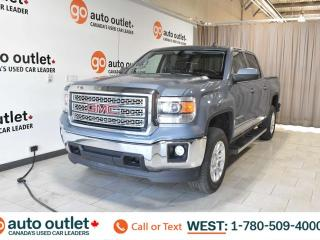 Used 2015 GMC Sierra 1500 Sle, 5.3L V8, 4x4, Crew Cab, Short box, OnStar Navigation, Heated cloth seats, Backup camera for sale in Edmonton, AB
