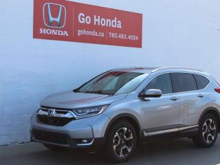 Used 2017 Honda CR-V Touring for sale in Edmonton, AB