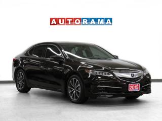 Used 2015 Acura TLX Tech Pkg AWD Navigation Leather Sunroof Backup Cam for sale in Toronto, ON