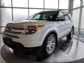 Used 2014 Ford Explorer EXPLORER - LIMITED - ONE OWNER for sale in Edmonton, AB