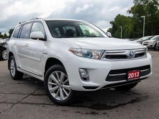 Used 2013 Toyota Highlander HYBRID Limited HYBRID 4WD SUV for sale in Brantford, ON