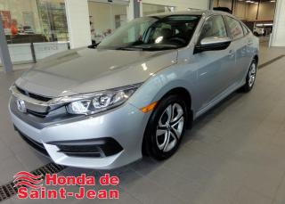 Used 2016 Honda Civic LX 4 portes CVT for sale in St-Jean-Sur-Richelieu, QC