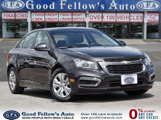 Used 2015 Chevrolet Cruze 1LT MODEL, 4CYL, POWER SUNROOF, REARVIEW CAMERA for sale in Toronto, ON