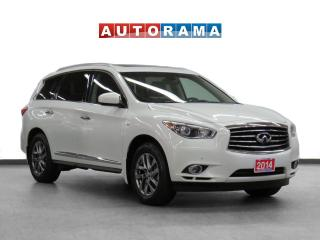 Used 2014 Infiniti QX60 4WD Navigation Leather Sunroof Backup Cam 7Pass for sale in Toronto, ON