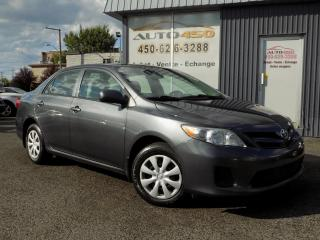 Used 2012 Toyota Corolla ***CE,AUTOMATIQUE,BAS KILOMETRAGE*** for sale in Longueuil, QC