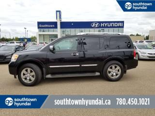 Used 2013 Nissan Armada PLATINUM - AWD/LEATHER/NAV/PANO SUNROOF for sale in Edmonton, AB