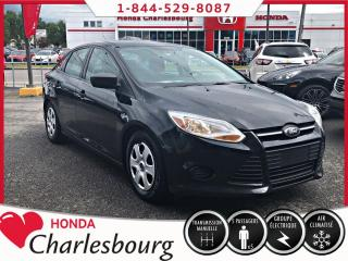 Used 2014 Ford Focus S CLIMATISEUR**AUCUN ACCIDENT** for sale in Charlesbourg, QC