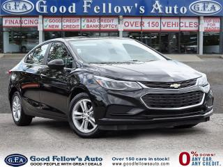 Used 2017 Chevrolet Cruze LT MODEL, 1.4 LITER 4CYL, RAERVIEW CAMERA for sale in Toronto, ON