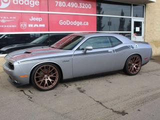 Used 2016 Dodge Challenger RT / GPS Navigation / Sunroof / Back Up Camera for sale in Edmonton, AB