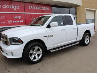 Used 2015 RAM 1500 Sport 4x4 Quad Cab for sale in Edmonton, AB