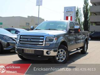 Used 2013 Ford F-150 LARIAT l 4x4 l Crew l Nav l Roof l Eco-Boost for sale in Edmonton, AB
