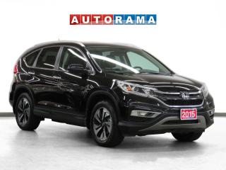 Used 2015 Honda CR-V Touring 4WD Navigation Leather Sunroof Backup Cam for sale in Toronto, ON