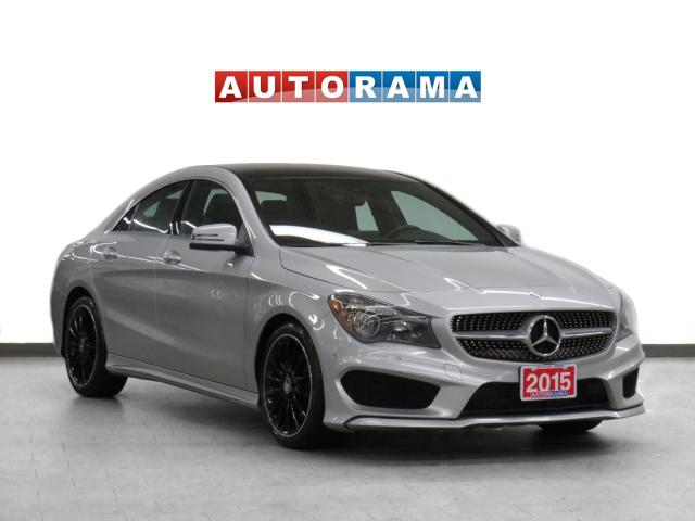 2015 Mercedes-Benz CLA 250 AMG Pkg 4WD Navigation Leather Sunroof