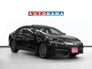 Used 2015 Acura TLX Tech Pkg Navigation Leather Sunroof Backup Cam for sale in Toronto, ON