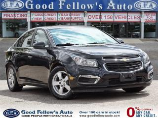 Used 2015 Chevrolet Cruze 2LT MODEL, 4CYL 1.4L, POWER SEATS, POWER SUNROOF for sale in Toronto, ON