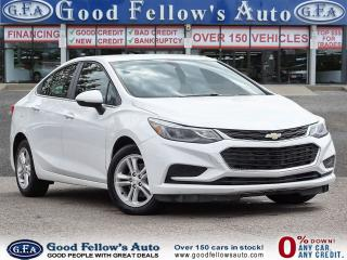 Used 2017 Chevrolet Cruze LT MODEL, 1.4 L 4CYL, RAERVIEW CAMERA, HEATED SEAT for sale in Toronto, ON