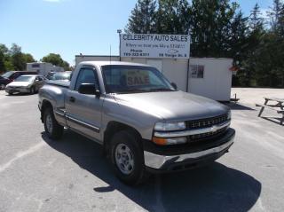 Used 2001 Chevrolet C1500/K1500 4X4 SILVERADO for sale in Elmvale, ON