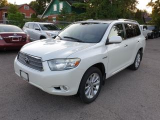 Used 2008 Toyota Highlander Hybrid LIMITED for sale in Brampton, ON