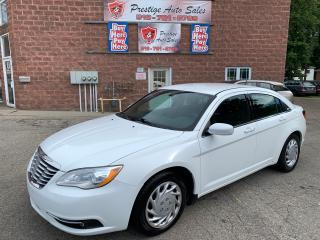 Used 2014 Chrysler 200 SUMMER BLOWOUT $400 OFF/NO ACCIDENTS/CERTIFIED for sale in Cambridge, ON