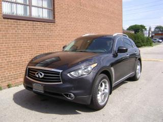 Used 2012 Infiniti FX35 Premium/NAVI/CAMERA/SUNROOF/LEATHER for sale in Oakville, ON