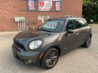Used 2013 MINI Cooper Countryman SUMMER BLOWOUT $400 OFF/S/ALL4/1.6T/NO ACCIDENT for sale in Cambridge, ON