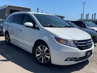 Used 2015 Honda Odyssey Touring.Navi.Camera.Park Assist.Power Doors.TV.DVD for sale in Kitchener, ON