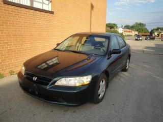 Used 1998 Honda Accord EXL/AC WORK/NEW TIERS/LEATHER SUNROOF/HEATED SEAT for sale in Oakville, ON