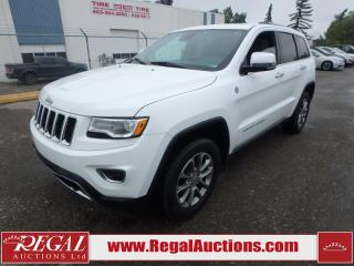Used 2016 Jeep Grand Cherokee Limited 4D Utility 4WD 3.6L for sale in Calgary, AB