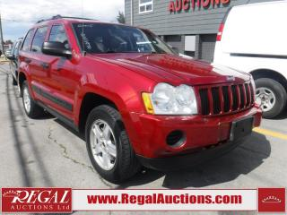 Used 2005 Jeep Grand Cherokee Laredo 4D Utility 4WD for sale in Calgary, AB
