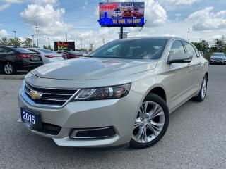Used 2015 Chevrolet Impala LT for sale in London, ON