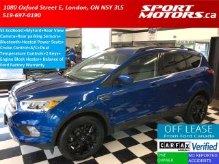 Used 2017 Ford Escape SE+Apple & Android Play+Camera+Bluetooth+Sensors for sale in London, ON
