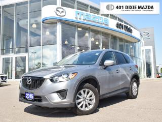 Used 2015 Mazda CX-5 GX|ONE OWNER|NO ACCIDENTS|1.99% FINANACE AVAILABLE for sale in Mississauga, ON