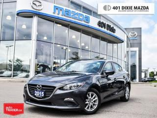 Used 2015 Mazda MAZDA3 GS ONE OWNER 1.99% FINANACE AVAILABLE for sale in Mississauga, ON