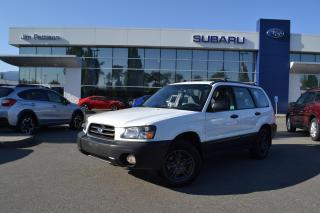 Used 2005 Subaru Forester X for sale in Port Coquitlam, BC