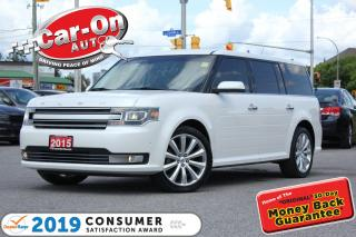 Used 2015 Ford Flex Limited AWD 7 SEAT LEATHER NAV PANO ROOF DVD for sale in Ottawa, ON