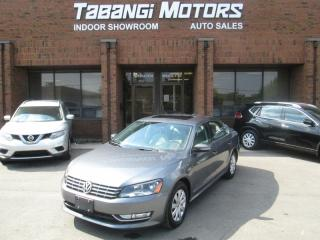 Used 2013 Volkswagen Passat TD | HIGHLINE | NO ACCIDENTS | NAVIGATION | REAR CAM | BT for sale in Mississauga, ON