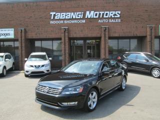 Used 2013 Volkswagen Passat TDI   COMFORTLINE  NO ACCIDENTS   NAVIGATION   REAR CAM   BT for sale in Mississauga, ON