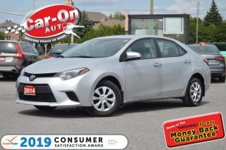 Used 2014 Toyota Corolla A/C BLUETOOTH ONLY 34, 000 KM POWER GROUP for sale in Ottawa, ON