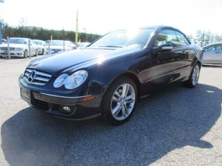 Used 2007 Mercedes-Benz CLK Cabriolet 3.5L/ ACCIDENT FREE for sale in Newmarket, ON