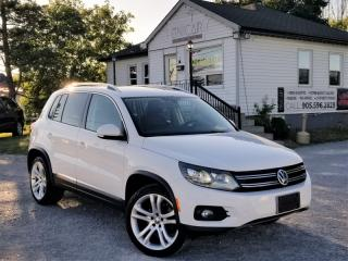 Used 2012 Volkswagen Tiguan 4Motion Highline 4Motion Leather Pano Roof for sale in Sutton, ON
