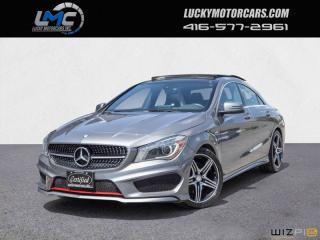 Used 2015 Mercedes-Benz CLA-Class CLA250 4MATIC AMG SPORT PERFORMANCE PKG-PANOROOF-LEDS-CAMERA for sale in North York, ON